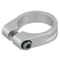 Kalloy_SC-201 Seatpost Clamp Silver (28.6,31.8,35mm)