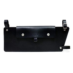 Classical Toptube Pouch - Black/Tan
